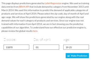 simMachines Demand Prediction Software